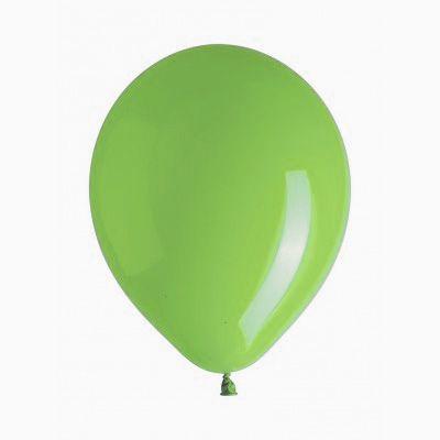 10 ballons vert anis
