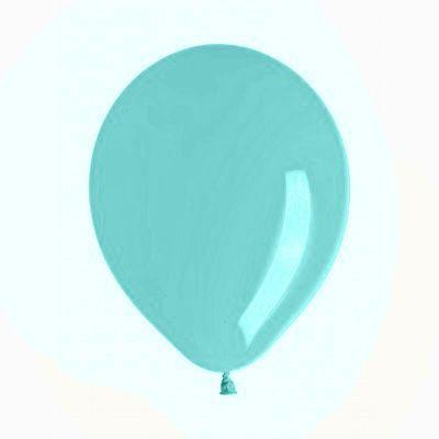 Ballon déco menthe (x10)