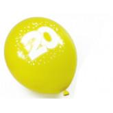 Ballons 20ans (x8)