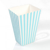 Boites à pop corn ( x 10) turquoise