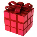 Cadeau de Noël décoratif rouge