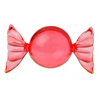 Bonbons à garnir (x6) transparent rouge