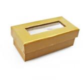 Boîtes à dragées rectangulaires (x6) or