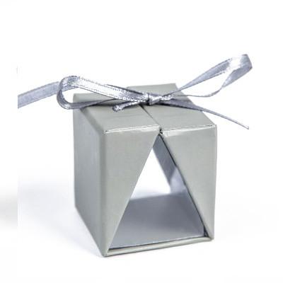 Boîtes cadeau (x4) gris