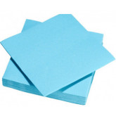 Serviettes de table turquoise
