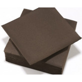 Serviettes de table chocolat
