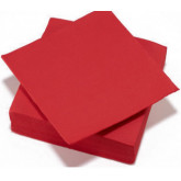 Serviettes de table rouge