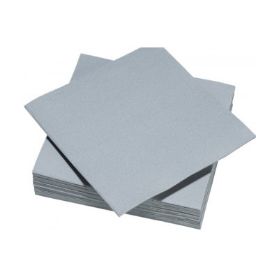 Serviettes de table grise