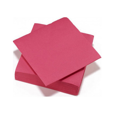 Serviettes de table fuchsia