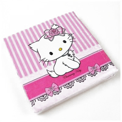 Serviettes Charmmy Kitty (x20)