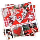 Serviettes papier Merry Christmas! x20 type