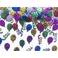 Confettis ballons et tourbillons