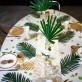 Serviettes Ananas or x16