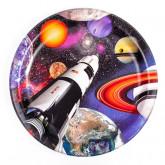 """Assiettes """"Astronautes"""" (x8)"""