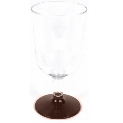 Verres à vin chocolat (x8)