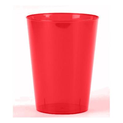 Gobelets en plastique rouge (x6)