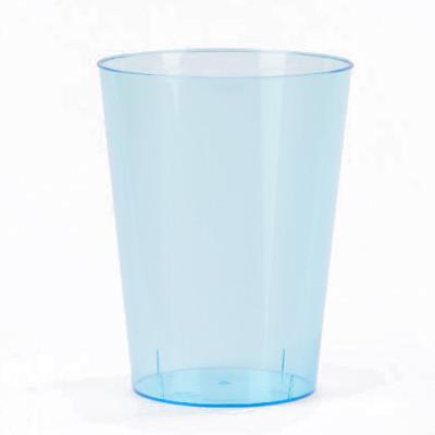 Gobelets en plastique turquoise (x8)