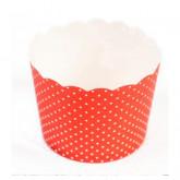 Petits pots plumetis ( X 25) rouge