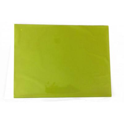 Sets de table vert cartonnés