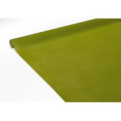 Rouleau de nappe voie sèche vert anis