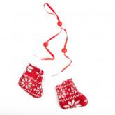 Paire de chaussons Noël a suspendre