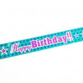 Fine bannière Happy Birthday