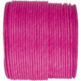 Ruban corde laitonné de couleur fuchsia
