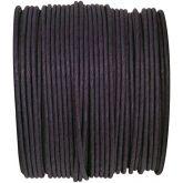 Ruban corde laitonné de couleur noir