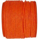 Ruban corde laitonné de couleur orange