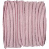 Ruban corde laitonné de couleur rose