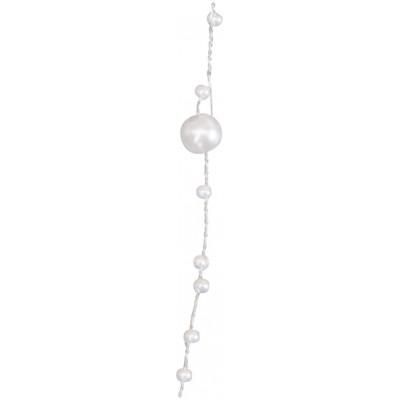 Guirlande de perles blanc