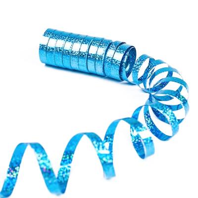 Bolduc holographique turquoise (x10)