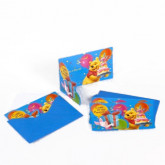 Invitations et enveloppes WINNIE x6