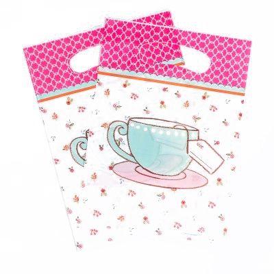 """Pochettes cadeaux Tea Party""""(x8)"""""""