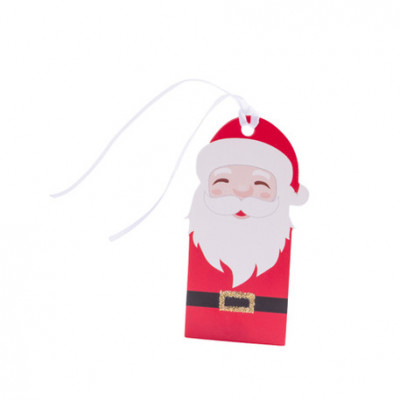 Etiquettes père Noël x8