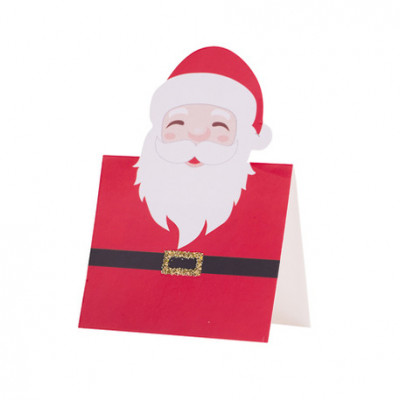 Marque-places père Noël x8