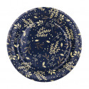 Assiettes hivernales marine or x8