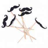 Kit photobooth moustaches (x6)