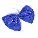 Nœud papillon géant bleu