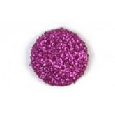 Confettis ronds pailletés (x50) fuchsia