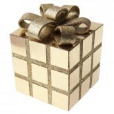 Cadeau de Noël décoratif or