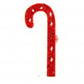 Sucres d'orge déco sticker rouge (x12)