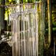 Rideau macramé ivoire 90cm x 2m