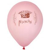 Ballons déco princesse x8