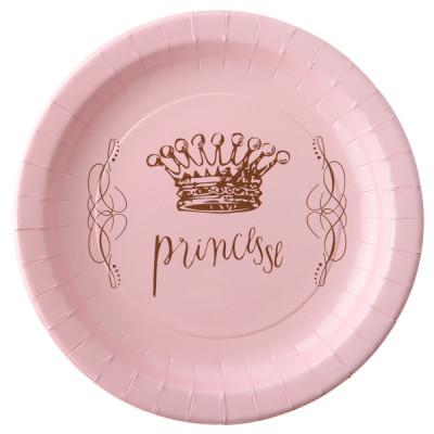 Assiettes déco princesse x6