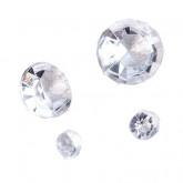 Assortiment de cristaux transparent