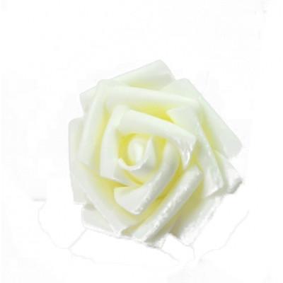 Bouquet de 6 roses gomme (x6) ivoire
