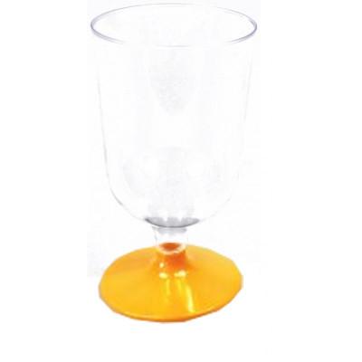 Verres à vin orange (x8)