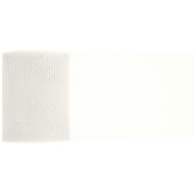 Ruban tulle blanc