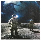 Serviettes astronaute x10